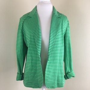 New York & Company Striped Blazer
